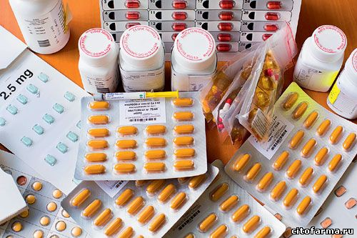 Лекарства Пустышки для эксперимента