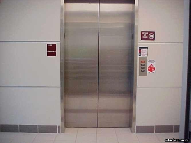 родила в лифте